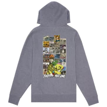 Fucking Awesome Frogman 2 Hoodie - Heather Grey