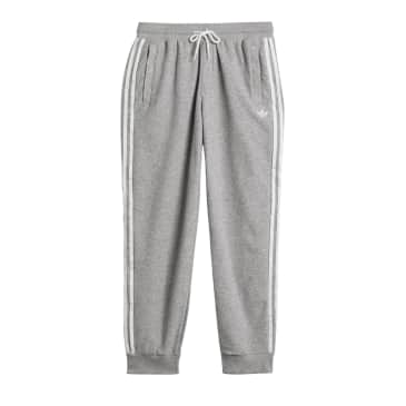 Adidas Boucle SST Track Pants - Medium Grey Heather/White