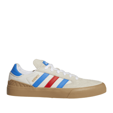 adidas Skateboarding Busenitz Vulc II Shoes - Clear Brown / Blue Bird / Gum