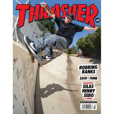 """THRASHER-""""MARCH 21 ISSUE"""""""