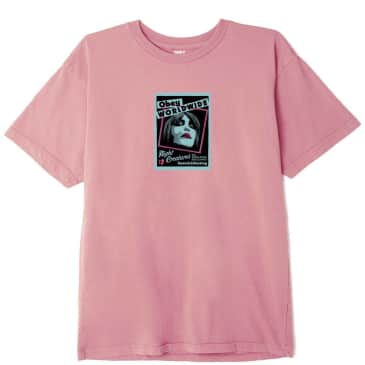 OBEY Night Creatures T-Shirt - Pink