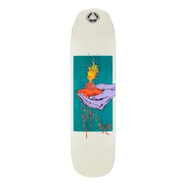 """Welcome Soil on Wicked Princess Deck 8.27"""" (Bone/Teal Stain)"""