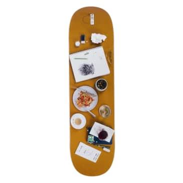 """Habitat Stefan Place Setting Skateboard Deck - 8.375"""""""