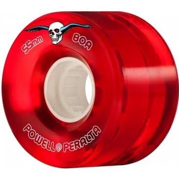 Powell Peralta Wheels H8 Cruisers Red 55mm 80a
