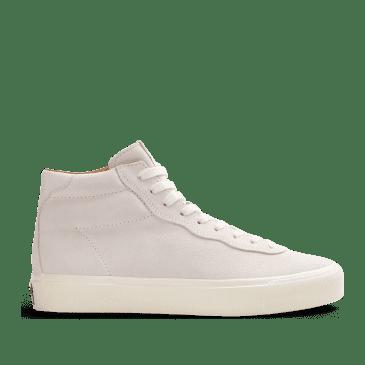 Last Resort AB VM001 Suede Hi Skate Shoes - White / White