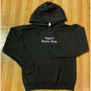 IMPACT Takeout Embroidered Hoodie Black
