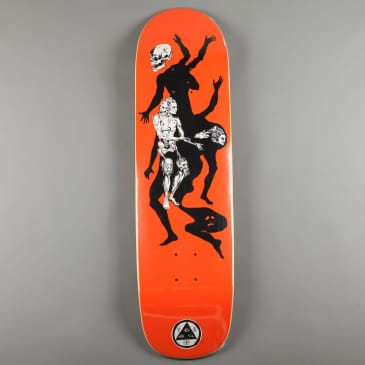 """Welcome 'The Magician on Son of Planchette' 8.38"""" Deck (Orange)"""