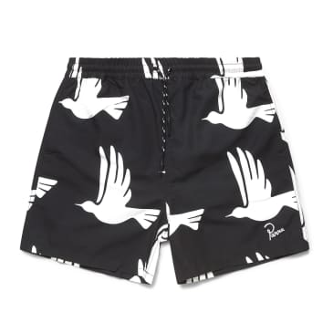 by Parra Static Flight Swimshorts - Black