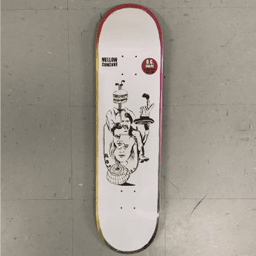 Baker Skateboards Rowan Zorilla Daydreams Deck 8.125