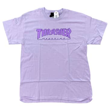 Thrasher Tee Outlined Orchid