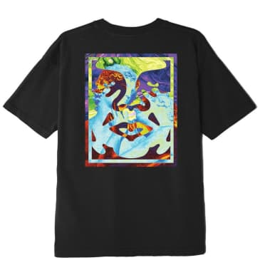 OBEY Statue Icon T-Shirt - Black