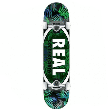 Real Skateboards - Team Tropics Team Oval Complete - 8""