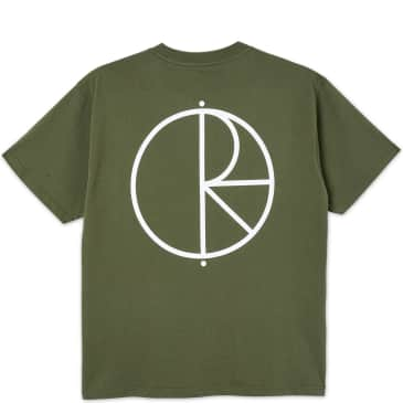 Polar Skate Co. Stroke Logo T-Shirt - Uniform Green