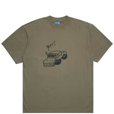 Andrew 2wo2imes Yerr! T-Shirt - Olive