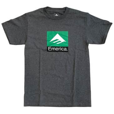Emerica Tee Classic Combo Charcoal Heather