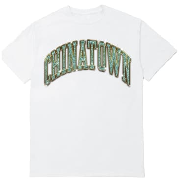 Chinatown Market Bling Arc T-Shirt - White