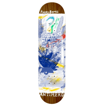"""Anti-Hero Skateboards Deck Beres SF Then And Nown 8.125"""""""
