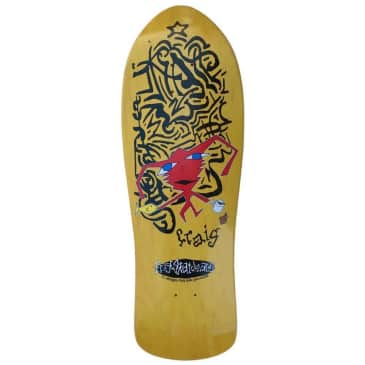 "Frog ""Delusional Craig"" shaped Skateboard Deck 10"""