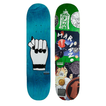 """Numbers Mariano Edition 7 Skateboard Deck - 8.1"""""""