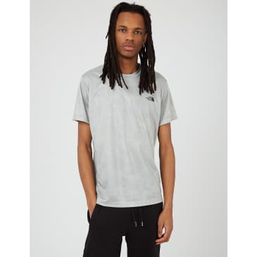 North Face Reaxion AMP T-Shirt - Wrought Iron/Morning Fog