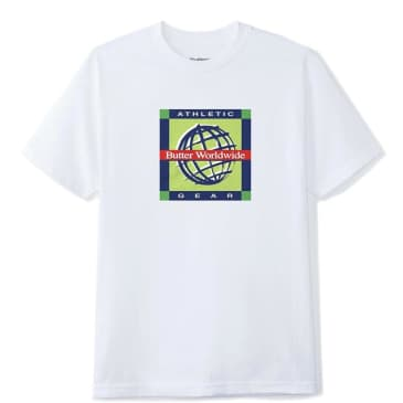 Butter Goods Athletic Gear T-Shirt - White