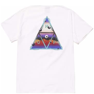 HUF Altered State Triple Triangle T-Shirt - White