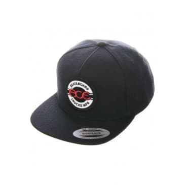 Ace - Seal 5 Panel Snapback Hat (Black)