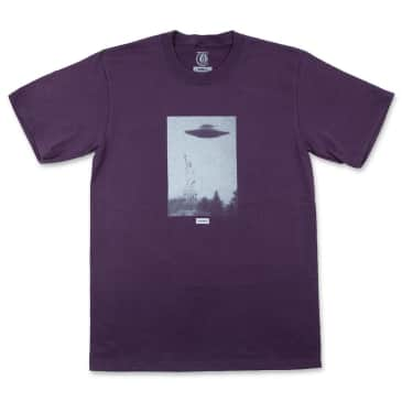 Theories - New York Harbor Tee Eggplant
