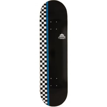 Sushi Skateboards Checker Logo Deck | Black | 8.25""