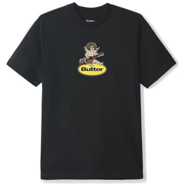 Butter Goods Angel Badge T-Shirt - Black
