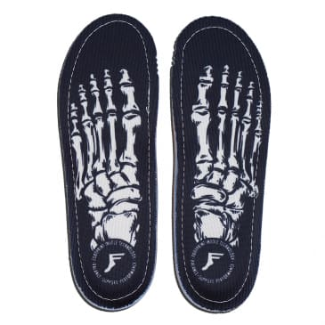 Footprint - KingFoam Orthotic - Skeleton White