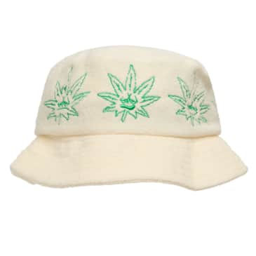 Huf 420 Green Buddy Terry Cloth Bucket Hat