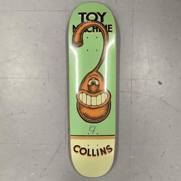 Toy Machine Skateboards Collins Pen N Ink Deck 8.25