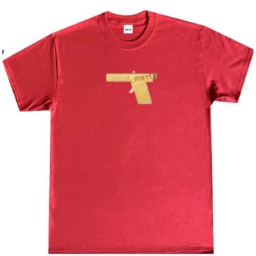 Poets Brand Glock T-Shirt - Red