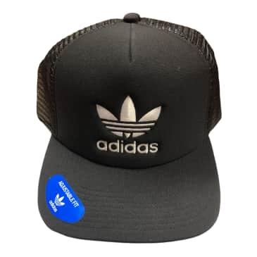 Adidas Originals Foam Trucker Hat Black/White