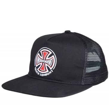 Independent Truck Co Mesh Snapback Cap | Black / Black