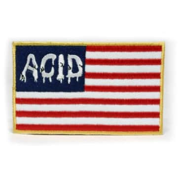 Acid Chemical Co. Flag Patch