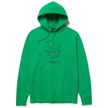 HUF Easy Green Pullover Hoodie - Green