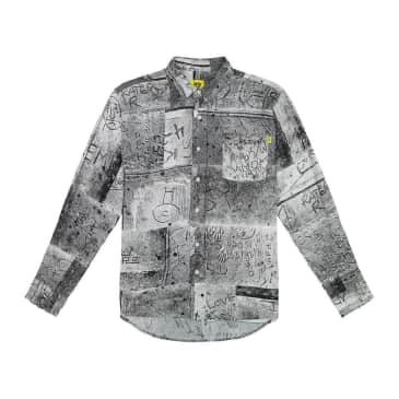 Iggy NYC - Wet Cement Button Down Shirt - Multi