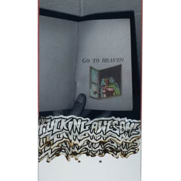 """Fucking Awesome Go To Heaven Skateboard Deck - 8"""""""