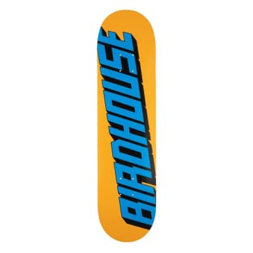 Birdhouse Type Logo Orange Deck - 7.75""