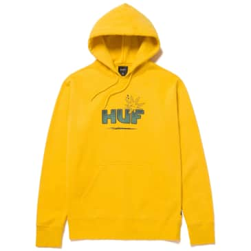 HUF Too High Pullover Hoodie - Golden