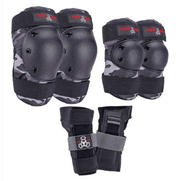 Triple Eight Protective Wear - Triple 8 Saver 3 Piece Pad Set LG