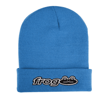 FROG WORKS BEANIE - CAR BLUE
