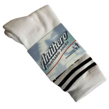 Anti Hero Socks Black Hero If Found Black Yellow