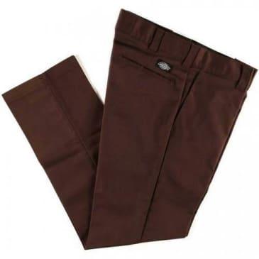 Dickies - Slim Straight Work Pant - Chocolate Brown