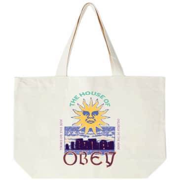 OBEY The House Of OBEY Tote Bag - Natural