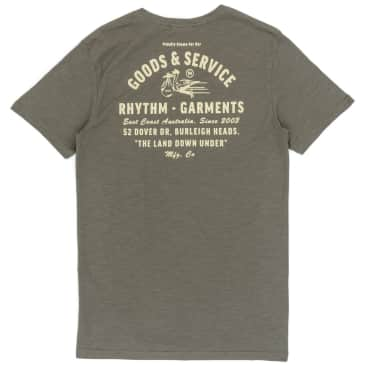Rhythm Clothing Down Under T-Shirt - Olive