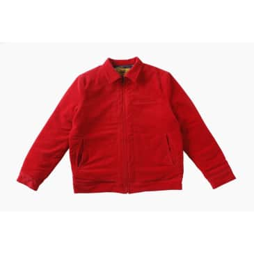 Carpet Company Reversible Cord Jacket Red