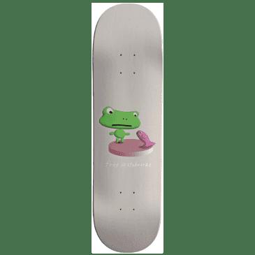 """Frog Annoying Fish Skateboard Deck - 8.6"""""""